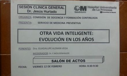 Sesión Clínica General del Hospital – Otra Vida Inteligente