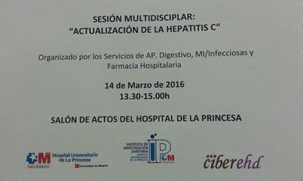 Sesión multidisciplinar – Actualización de la Hepatitis C