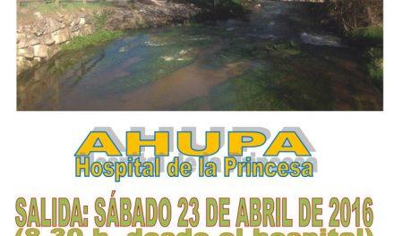 Excursión Senderismo – Paseo por el río San Juan – 23 de Abril