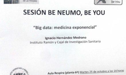 Sesión BE NEUMO, BE YOU – Big data: Medicina exponencial