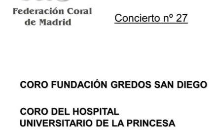 Concierto Coro del Hospital Universitario de la Princesa
