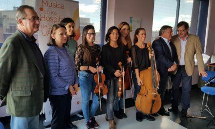 """""""Música en los hospitales"""" en el Hospital Universitario de La Princesa"""