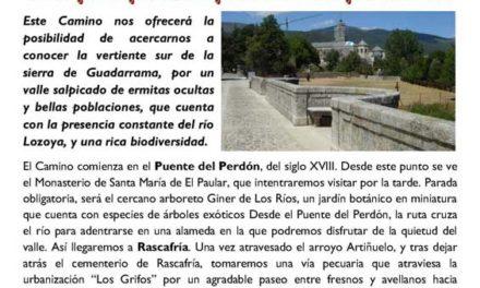Salida senderista – Los Pueblos del Valle del Lozoya