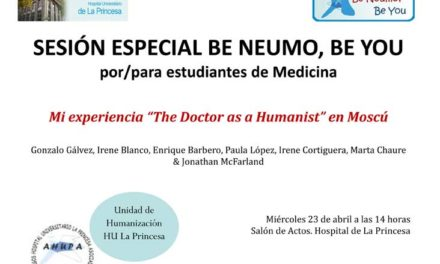 Sesión Be Neumo, Be You – The Doctor as a Humanist