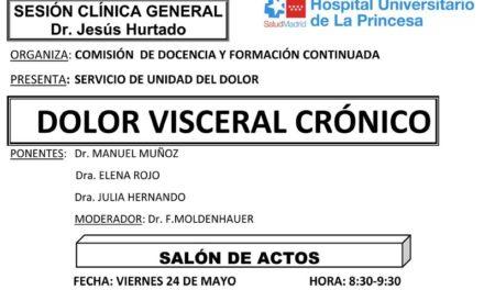 Sesión Clínica 24 de Mayo – Dolor visceral crónico