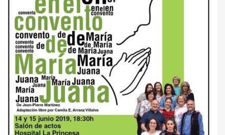 Milagro en el convento de María Juana – teatro en el Hospital La Princesa 14 y 15 de junio