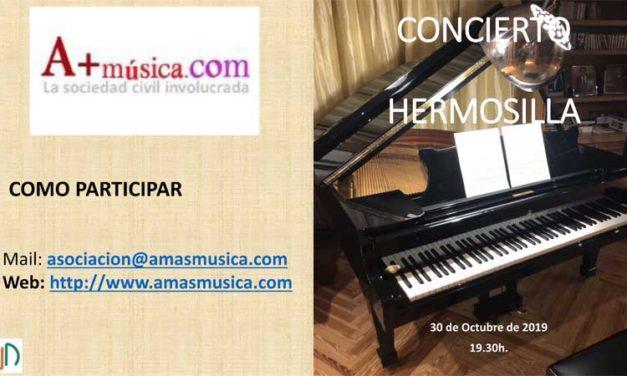 Concierto de Piano – Día 30 de Octubre 2019