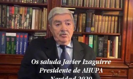 Felicitación Navidad 2020 – Presidente AHUPA