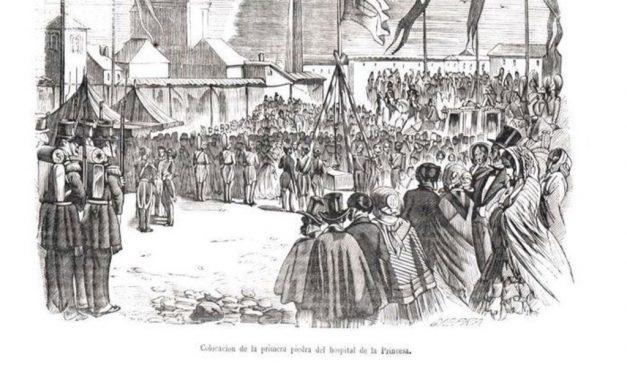 Iconografía histórica del Hospital de La Princesa