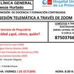 Sesión Clínica 01 de octubre – Servicio de Psiquiatría Capacidad ¿qué, cómo, quién?